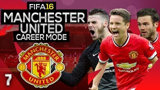FIFA 16 Career Mode: Manchester United #7 - Champions League Begins! (FIFA 16 Gameplay)