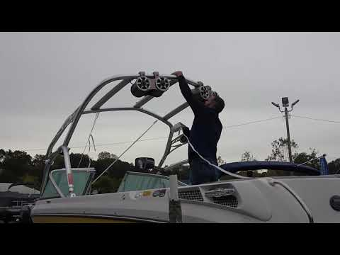 How to Install a Support Structure for your Wake Tower Boat Cover