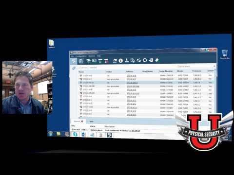 Basic Axis IP Camera Setup with Local Storage