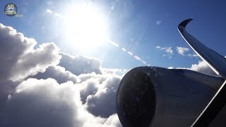 DRAMATIC CLOUD CHASING: Singapore A350 beautiful Landing into Brisbane, Australia!v [AirClips]