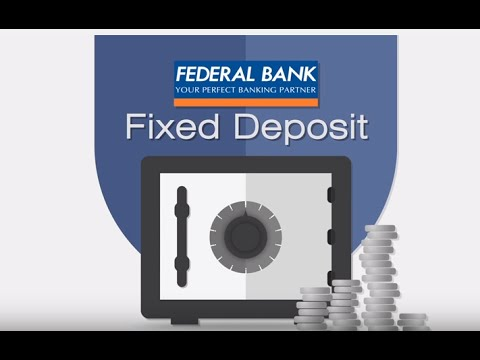 Federal Bank Fixed Deposit