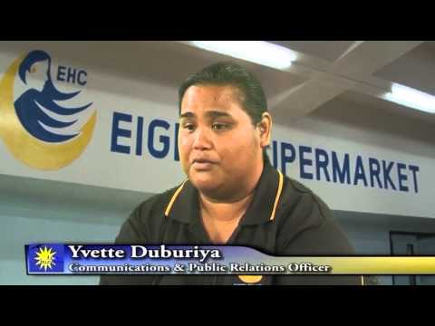 Nauru Supermarket News Broadcast