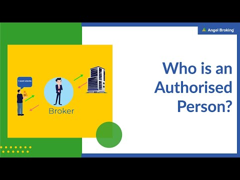 Who is an Authorised Person? | Angel Broking