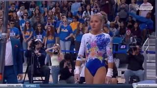 Madison Kocian Bars UCLA vs Arizona 2020 9.925