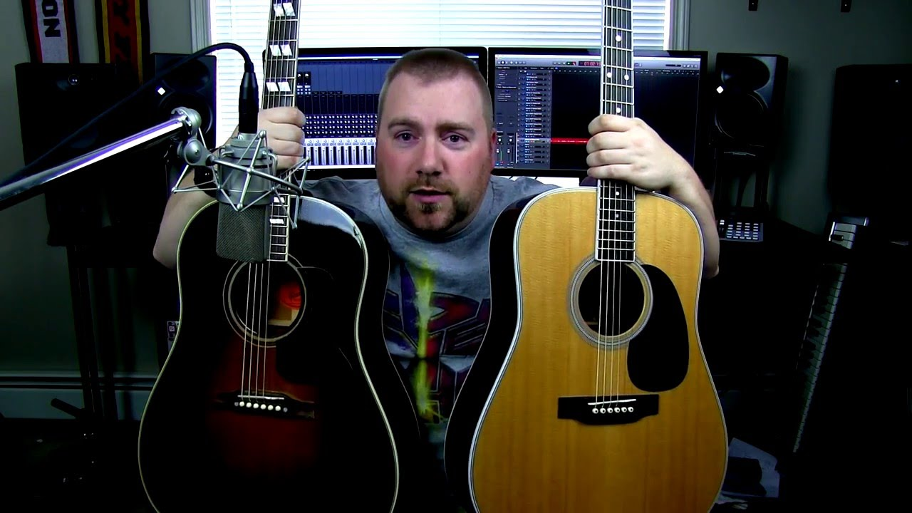 Martin Acoustic VS Gibson Acoustic