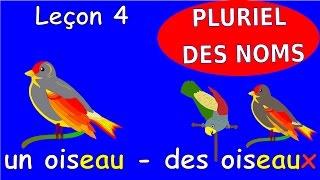 Урок французского языка 4. Множественное число существительных. #французский