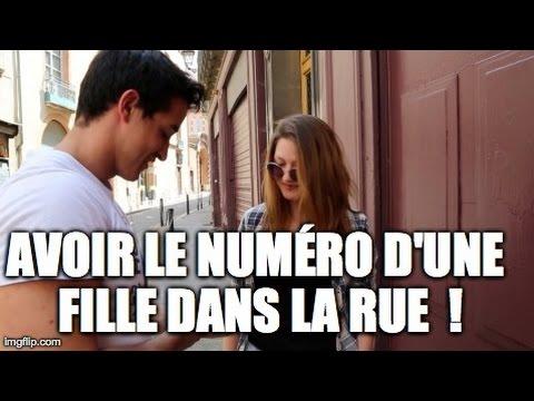 comment prendre le numero d'une fille dans la rue