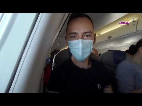 Flight During COVID With BELAVIA | EMBRAER ERJ-195 | Minsk - Amsterdam |Economy Class