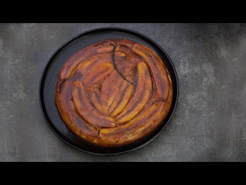 recette-de-gâteau-tatin-à-la-banane-original-₪-pankaj-sharma