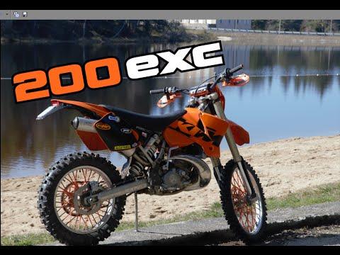 J Ai Ma Nouvelle Moto Ktm 200 Exc Youtube