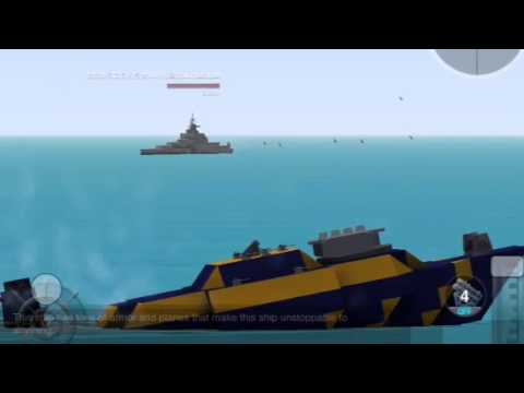 How To Make A Submarine In Battleship Craft Easy