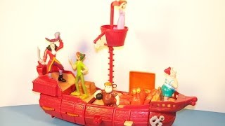 2002 DISNEY'S PETER PAN RETURN TO NEVER LAND SET OF 6 McDONALD'S HAPPY MEAL MOVIE TOY'S VIDEO REVIEW