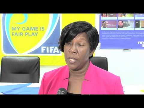 GRENADA- FIFA 11 For Health Launch 2015