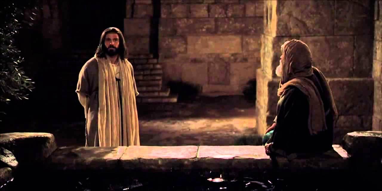 Resultado de imagem para JESUS E NICODEMOS