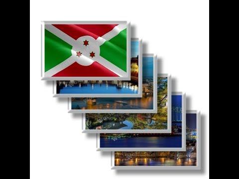 BI - Travel in Burundi - rectangular magnets and souvenirs
