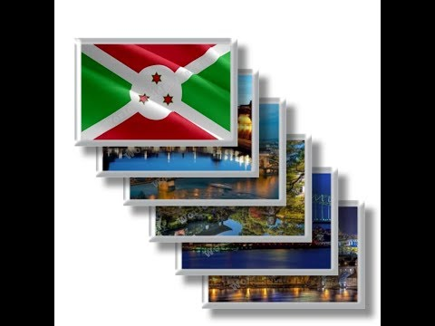 BI - Travel in Burundi - rectangular magnets and souvenirs