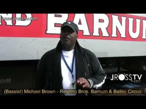 James Ross @ (Bassist) Michael Brown - Ringling Bros. Barnum & Bailey Circus - www.Jross-tv.com
