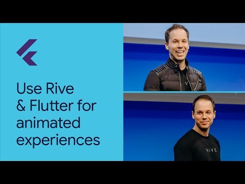 Use Rive and Flutter for dynamic, interactive, & animated experiences (Flutter Interact '19)
