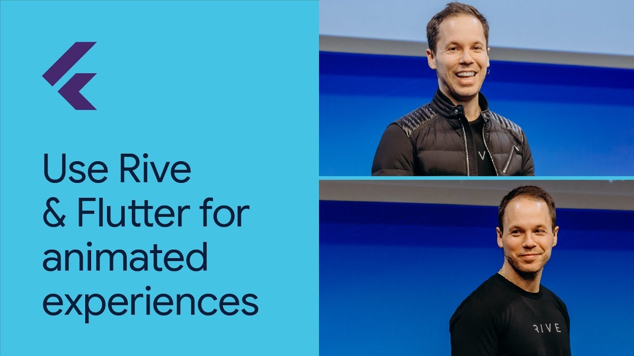 Use Rive and Flutter for dynamic, interactive, & animated experiences (Flutter Interact '19