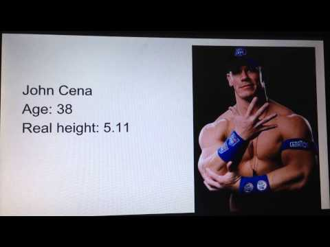 Wwe Rop 15 Wrestlers Real Height