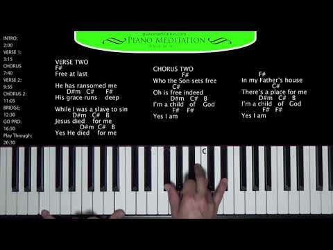Who You Say I Am (Hillsong) - How to Play on the Piano
