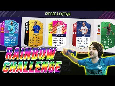 NAJŠARENIJI DRAFT! FIFA 18 CHALLENGE