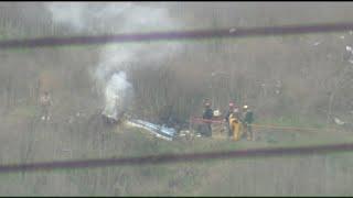 RAW VIDEO: Scene of Kobe Bryant helicopter crash in Calabasas, Calif.