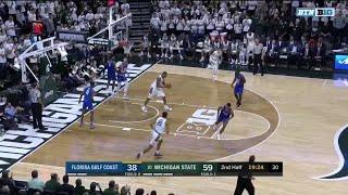 Highlights: Fl. Gulf Coast at Michigan State | Big Ten Basketball