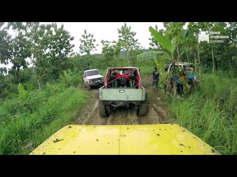 REMBANG KARTINI OFFROAD 2017 - Country Road