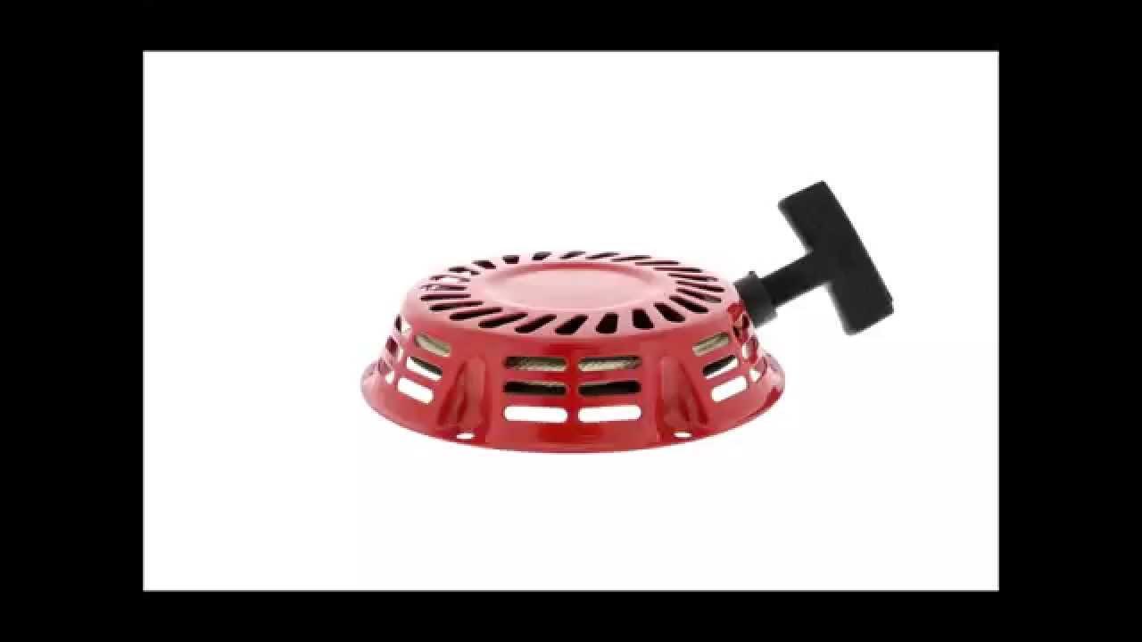RECOIL PULL STARTER FOR HONDA ENGINE 11HP - 13HP GX340 GX390 GX610 GX620 - YouTube