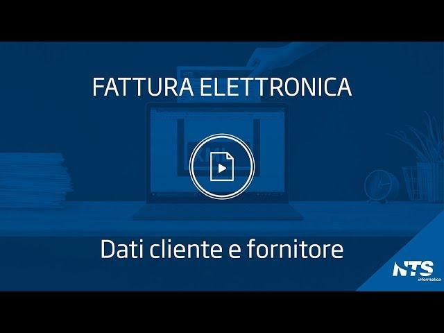 Consolle: navigazione dettagli - Dati Cliente Fornitore