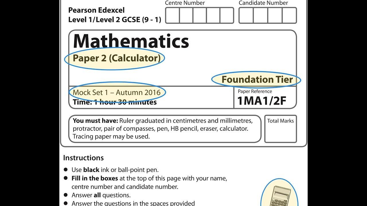 Vergleichende Arbeit 2018 im Fach Mathematik Freitag, 18 ...
