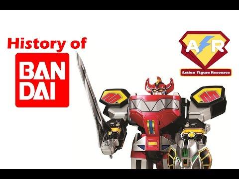 The History Of Bandai