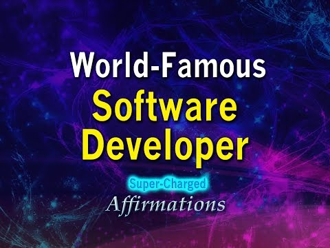 World Famous Software Developer  - Super-Charged Affirmation