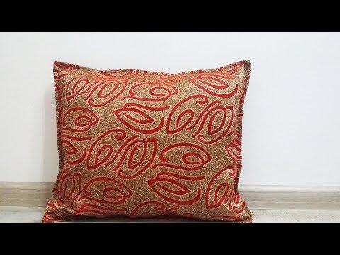 Наволочки своими руками для декоративных подушек