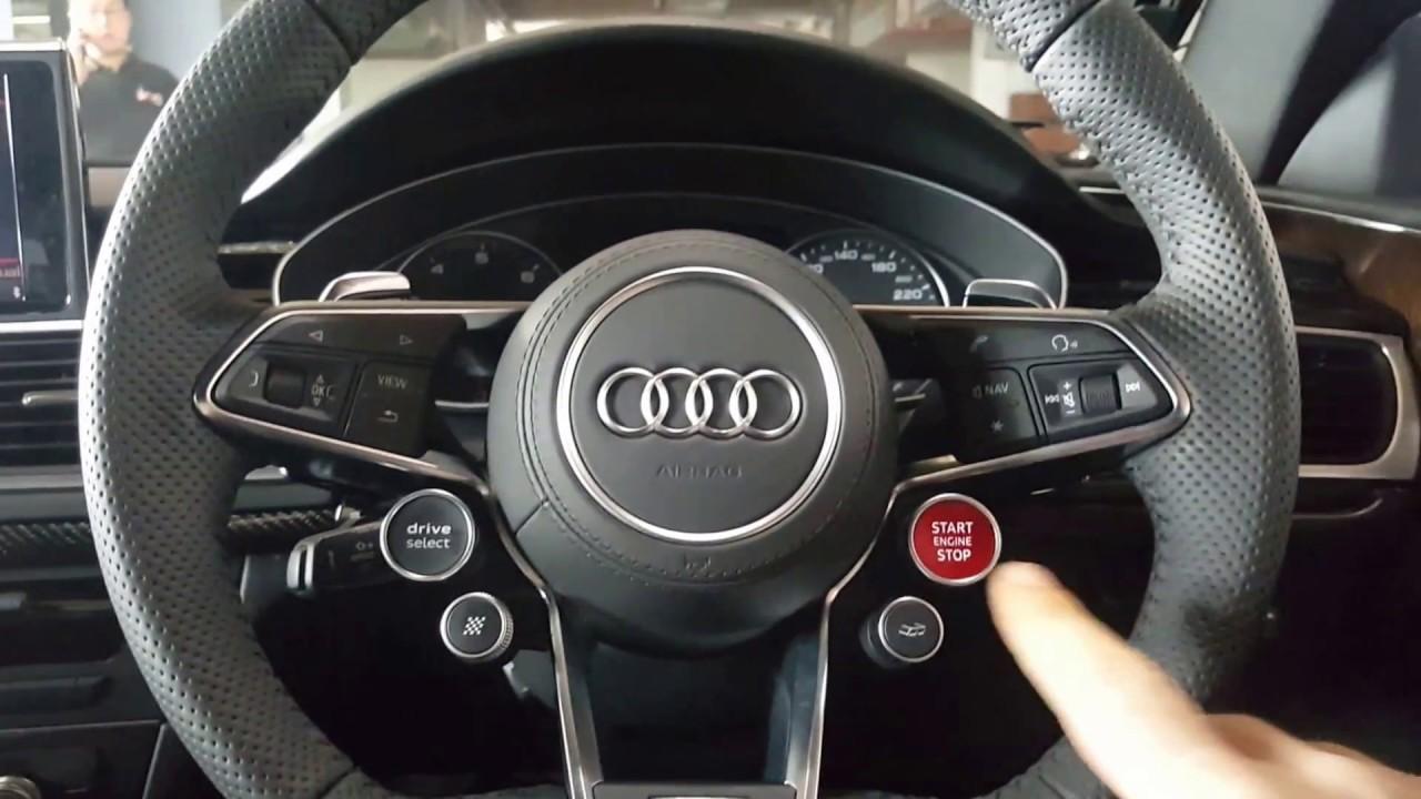 Audi R8 Steering Wheel Retrofit To C7 A6 A7 Youtube