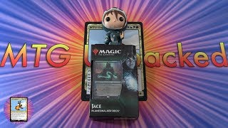 War of the Spark Jace Planeswalker Deck unboxing - MYTHIC PULL!