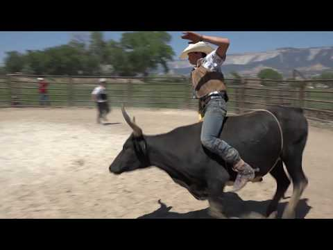 Gary Leffew Bull Riding Compilation With Music (Day 1)