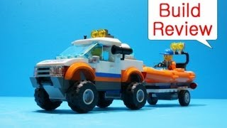 Lego Boat (л€кі) 60012  4x4 & Diving Boat - Car Toys Build Review