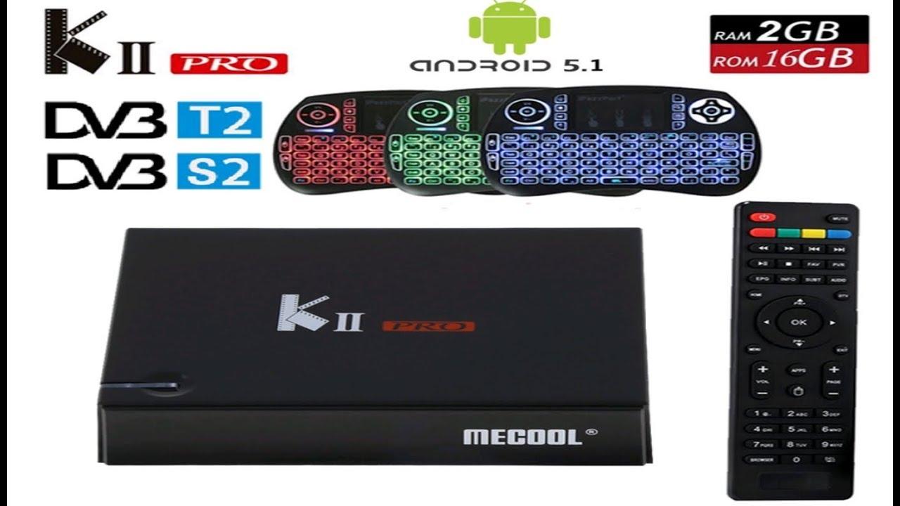 KII PRO Android TV BOX. Два тюнера спутниковый S2 и цифровой Т2 + Android.Обзор,настройка каналов.