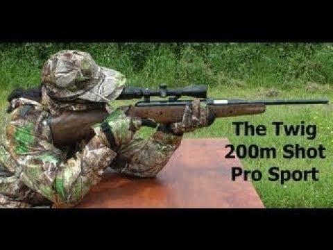 218 YARD AIR RIFLE SHOT - Exploding Air Gun Sniper Shot