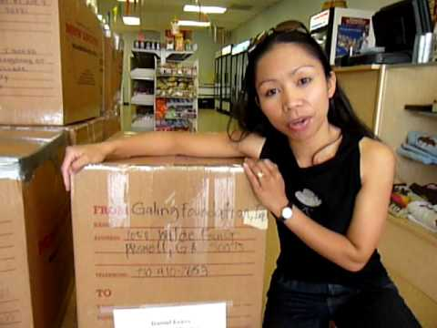 GFI ships its 125th box of educational resource materials to benefit Mindanao
