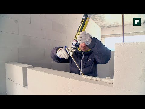 видео: Полиуретановый клей для монтажа строительных конструкций // forumhouse