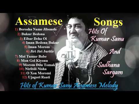 Hits Of Kumar Sanu Assamese Melody II  Assamese Songs II