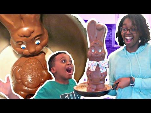 DO NOT BOIL CHOCOLATE EASTER BUNNY (GROSS!)