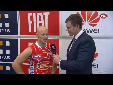 RD15: Gary Ablett Post-Game (Fox Footy)