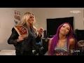 WWE Raw 2017.02.06 Charlotte & Sasha Banks Segment