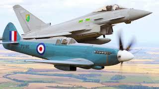 WW2 Planes Still in British Air Force Service