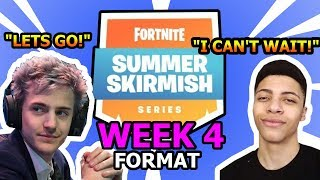 Fortnite Summer Skirmish Week 4 Format! *SOLO PRIVATE LOBBY*