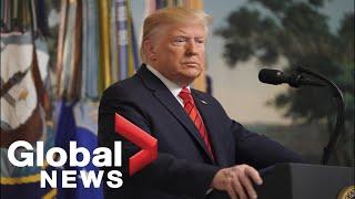 Donald Trump FULL announcement ISIS leader Abu Bakr al-Baghdadi killed in military operation
